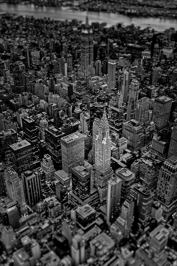 Chrysler Building NYC Skyline BW by Susan Candelario