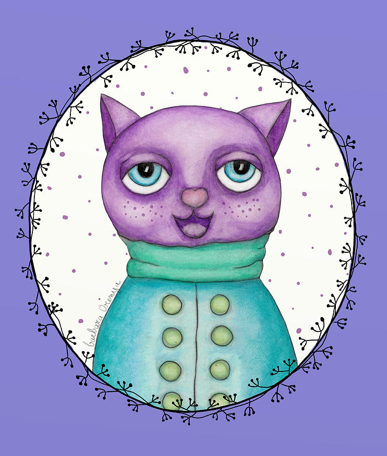 Chubby Cat by Barbara Orenya