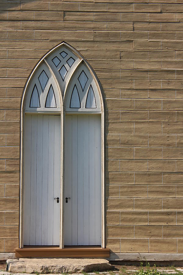 St. Augustine's Church Photograph - Church Door, St. Augustines by Callen Harty