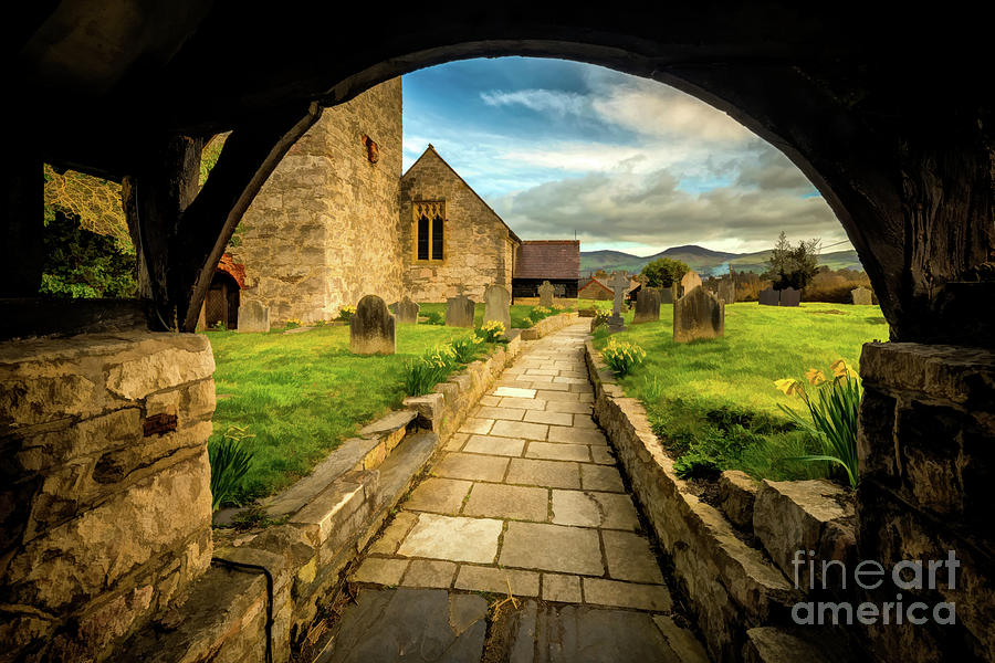 Church Entrance Wales by Adrian Evans