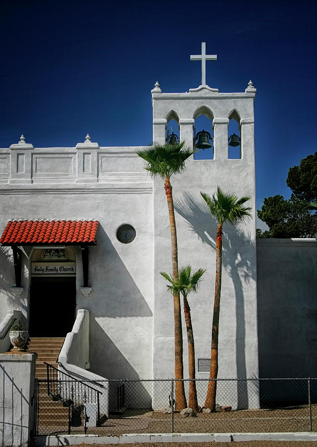 Church In Tucson by Tom Singleton