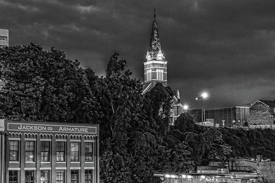 Church Night Knoxville by Sharon Popek
