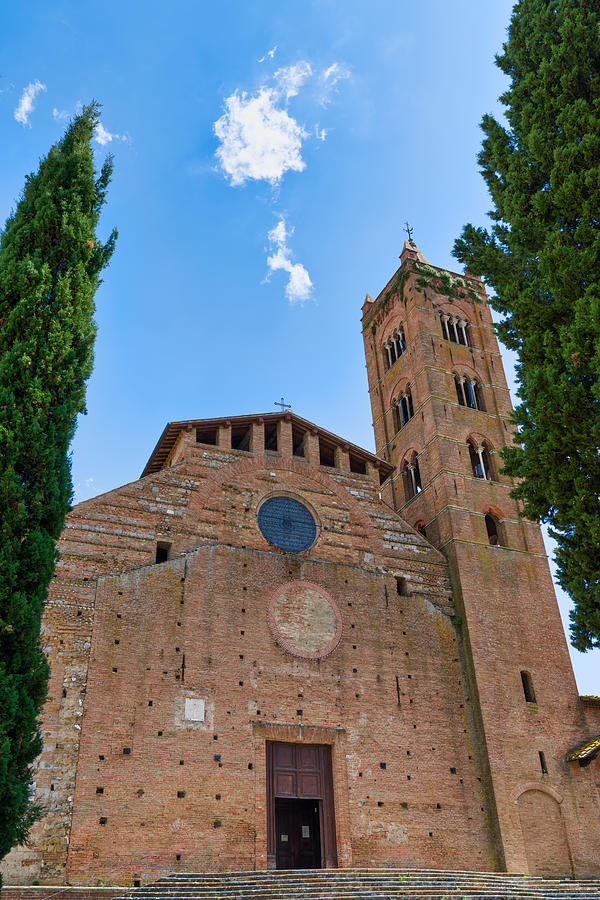 Church of San Clement in Santa Maria dei Servi, Siena, Tuscany, Italy Photograph by Mauro Tandoi