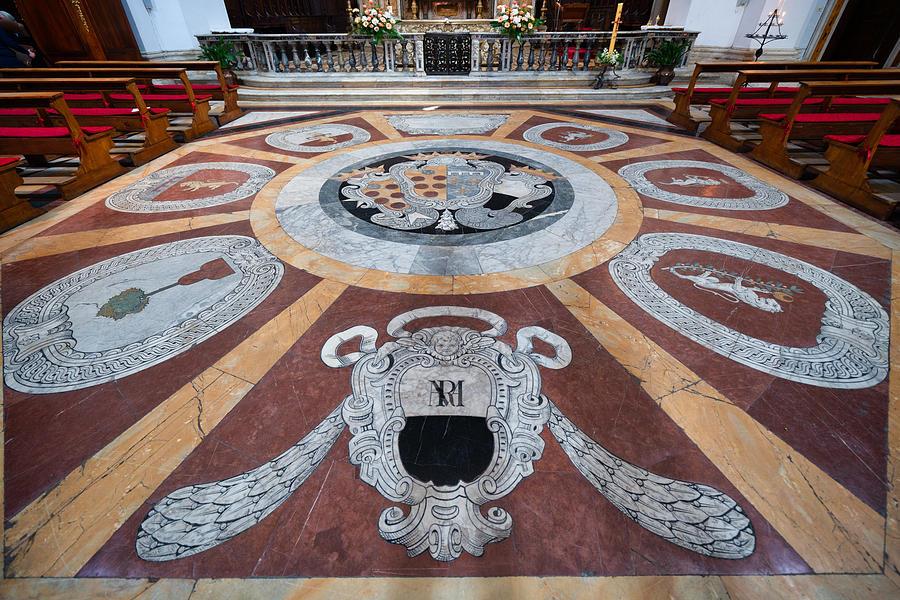 Church of Santa Maria in Provenzano, Siena, Tuscany, Italy Photograph by Mauro Tandoi