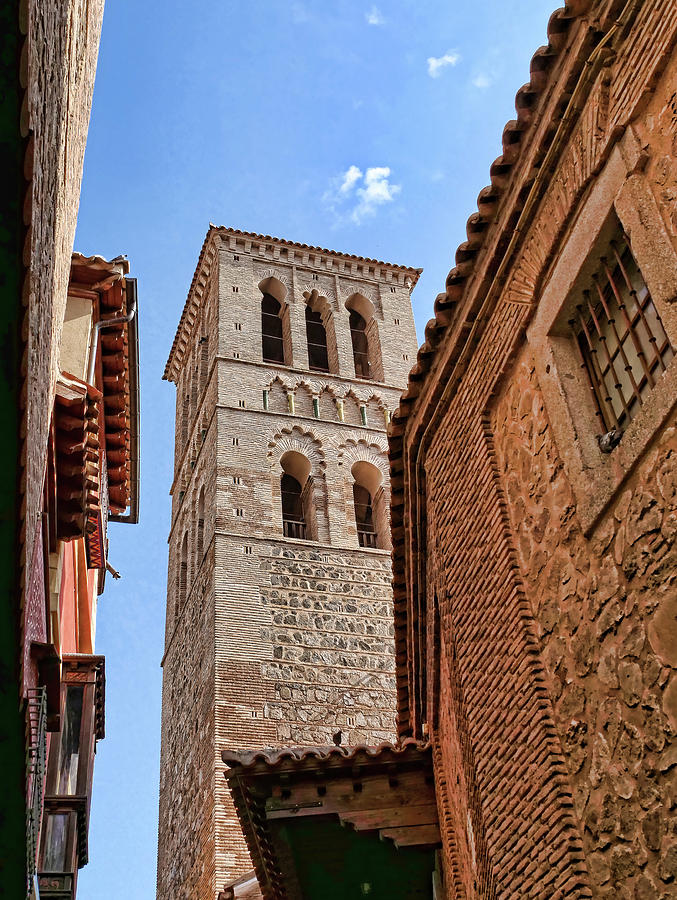 Church of Santo Tome # 2 - Toledo Spain by Allen Beatty