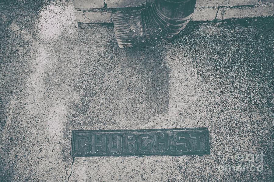 Church Street - Charleston South Carolina Sidewalk Photograph