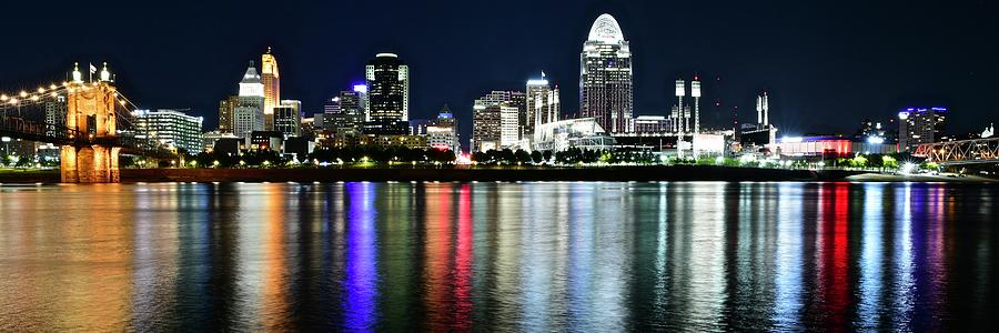 Cincinnati Stretch Panorama Photograph