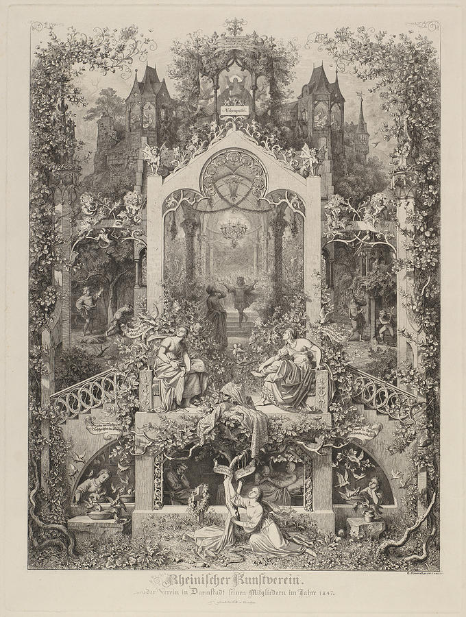 Cinderella by Eugen Napoleon Neureuther