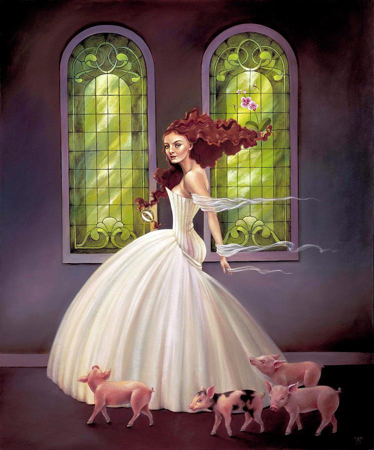 Circe's Bridal Party by Melanie Stimmell Van Latum
