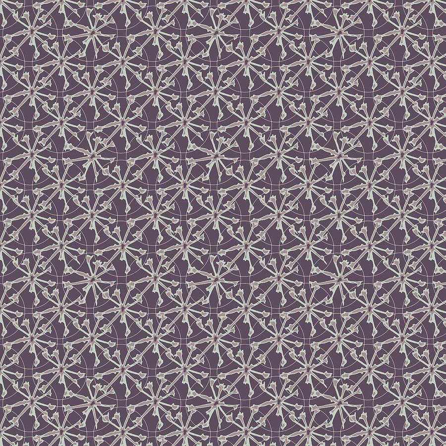 Circle Geometric Pinwheel Print Pattern Digital Art