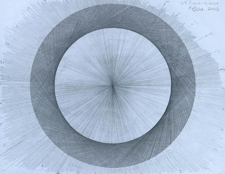Perfect Drawing - Circles do not exist by Jason Padgett