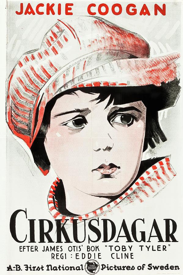 circus Days, With Jackie Coogan, 1923 Mixed Media