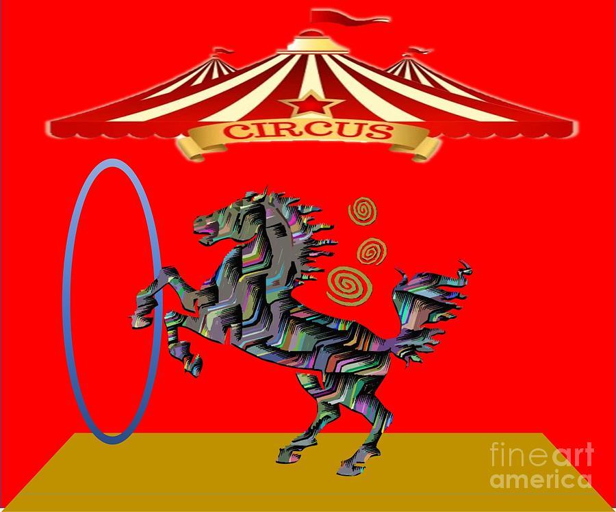 Circus Time Digital Art