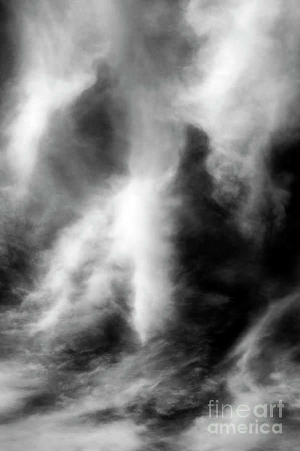 Cirrus Clouds With Human Face Photograph