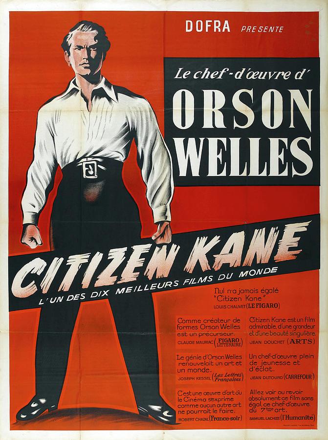 citizen Kane 5, With Orson Welles, 1941 Mixed Media