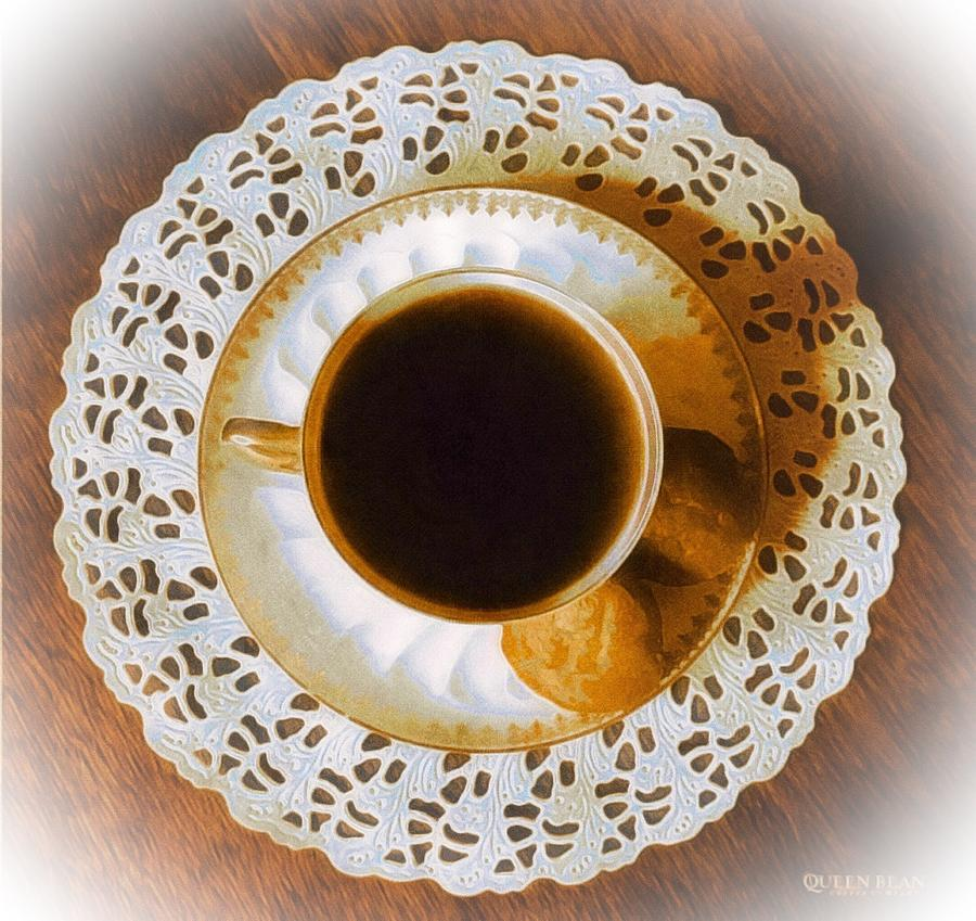 Citrus Cup Of Tea Photograph