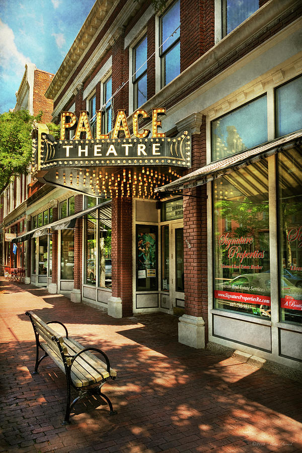 City - Corning NY - The Palace Theatre by Mike Savad