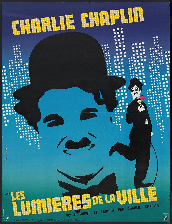 city Lights, With Charlie Chaplin, 1931-3 Mixed Media