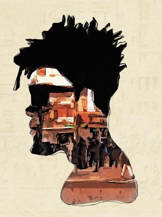 City Man Digital Art - City Man by Regina Wyatt