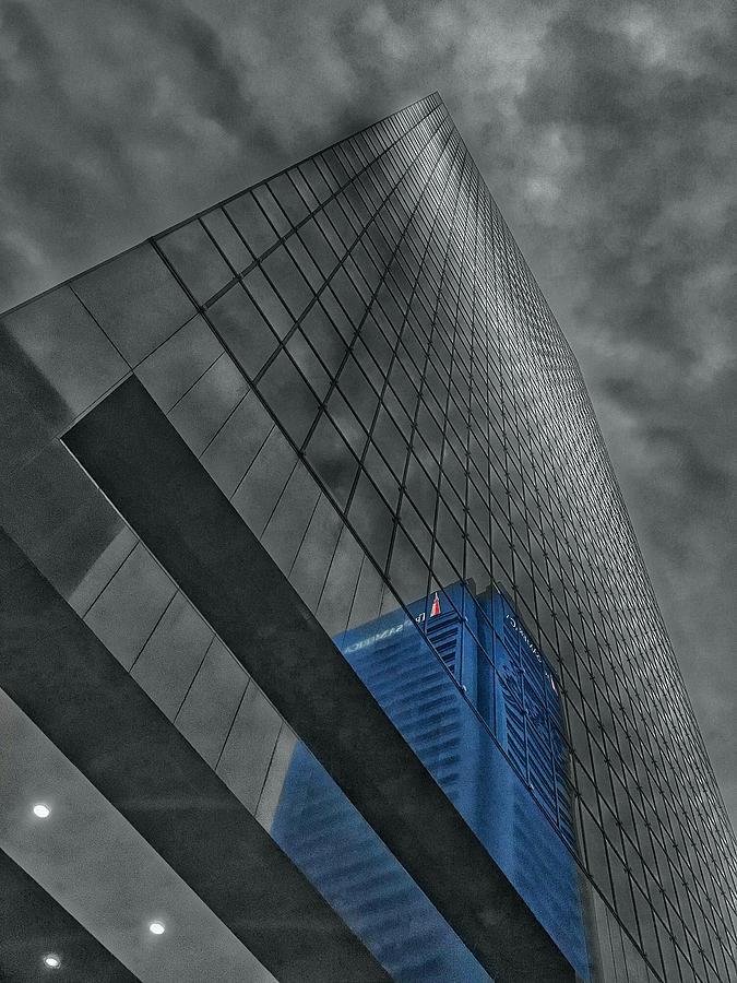 City Reflection - Transamerica Baltimore, Maryland  by Marianna Mills
