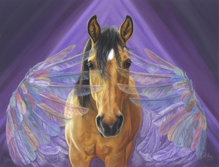 Kiger Mustang Pastel - Clairity by Kim McElroy