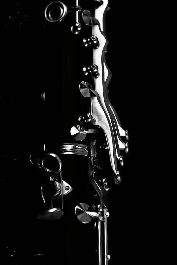 Clarinet Keys Photograph