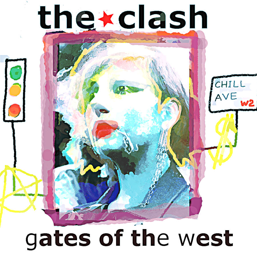 Clash 1979 Gates Of The West Painting