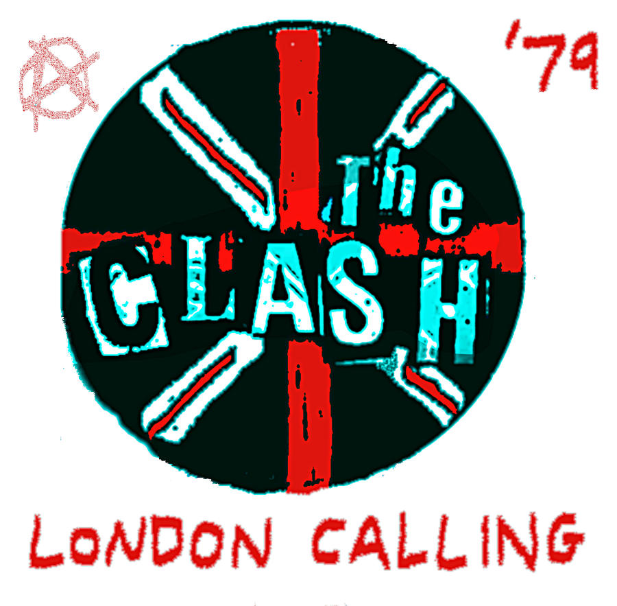 Clash 79 Button Badge Painting