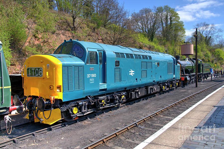 Class 37 At Bewdley Photograph