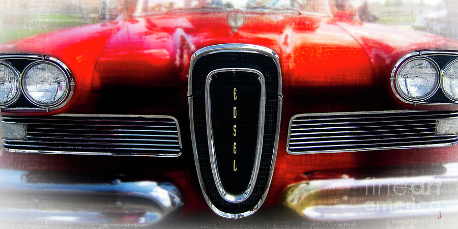 Classic 1958 Edsel Photograph by John Strong