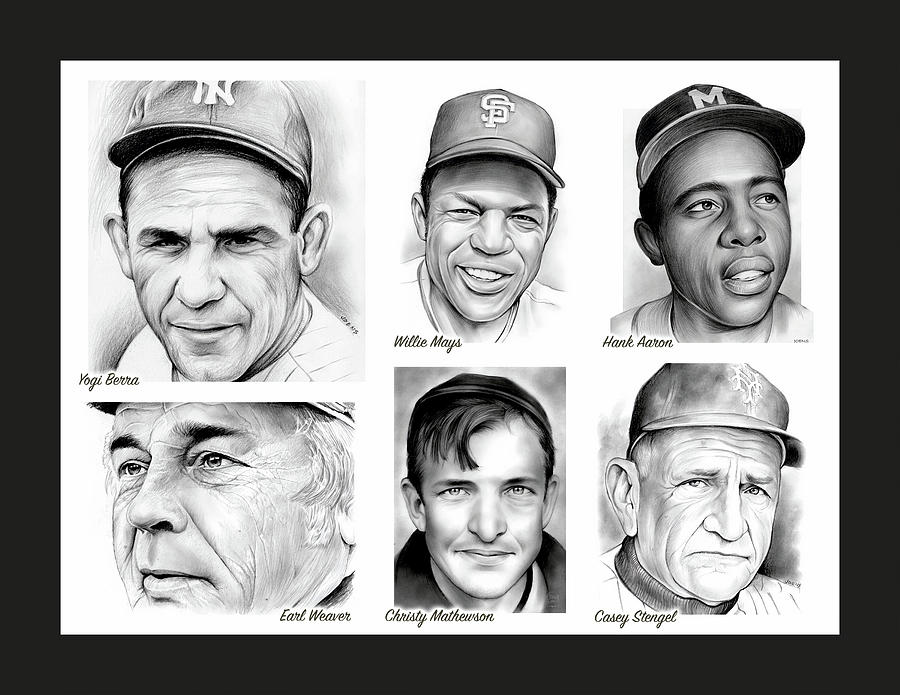 Classic Baseball Mixed Media