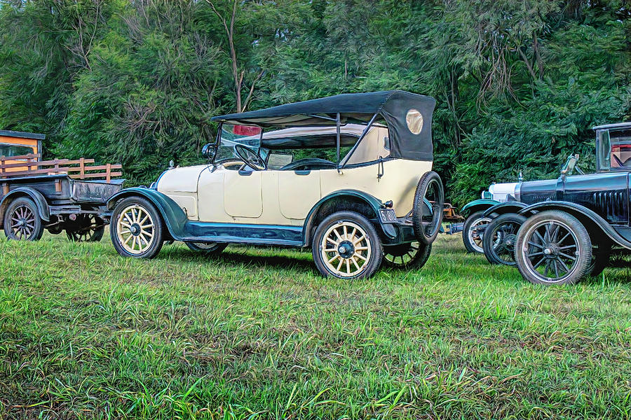 Classic Cars Antique Roadsters Photograph
