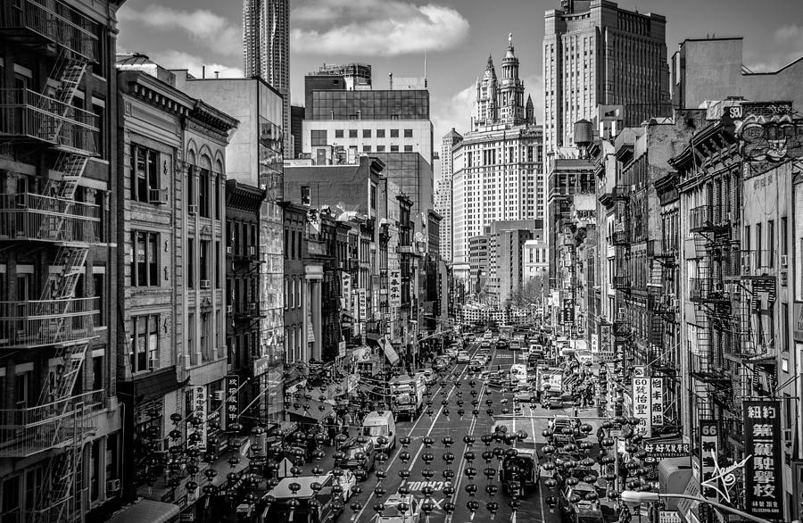 China Town Photograph - Classic - ECC by Johnny Lam