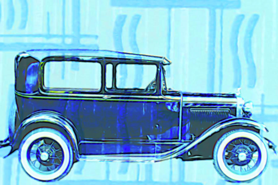 Classic Ford 1929 by Cathy Anderson