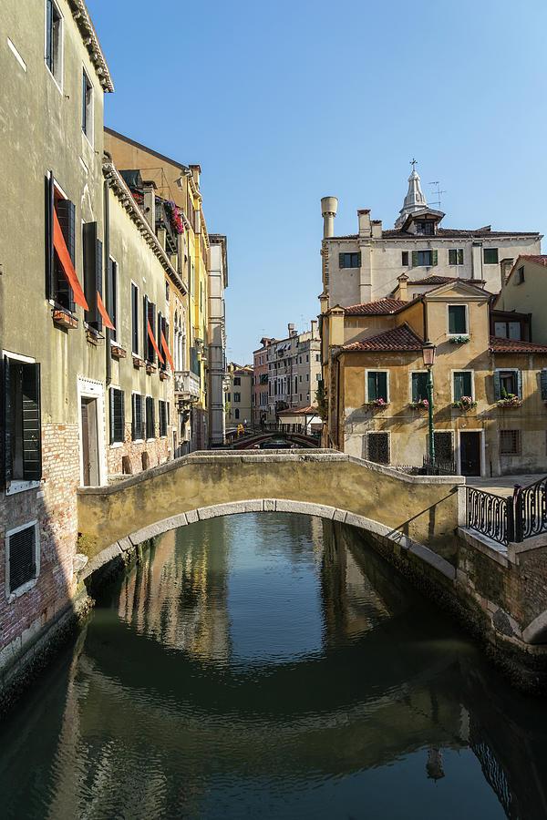 Classic Venetian - Campo Santa Maria Formosa Private Bridge by Georgia Mizuleva