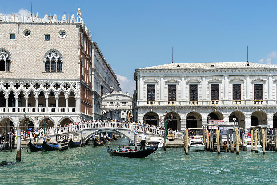 Classic Venetian - Doges Palace Prisons Palace and the Bridge of Sighs by Georgia Mizuleva
