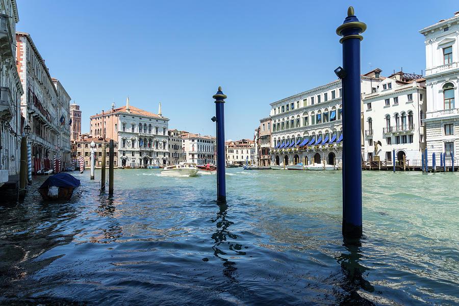 Classic Venetian - Grand Canal Palaces Boats and Signature Pali da Casada by Georgia Mizuleva