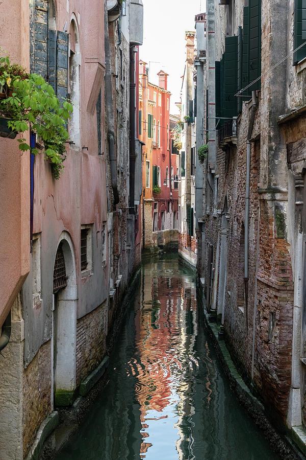 Classic Venetian - Small Canal Silky Ripples  by Georgia Mizuleva