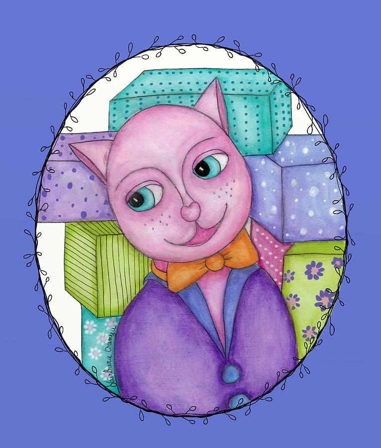 Classy Cat by Barbara Orenya