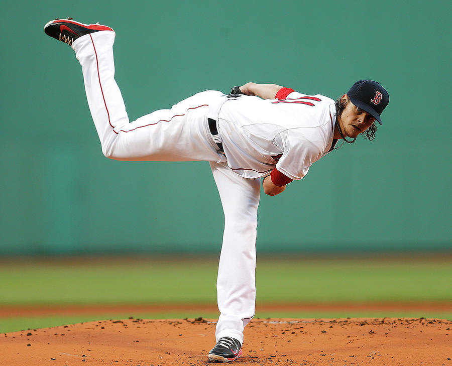 Clay Buchholz Photograph by Jim Rogash