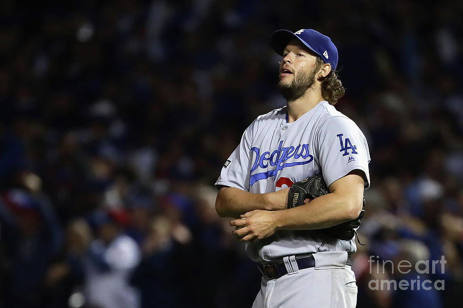 Clayton Kershaw and Anthony Rizzo Photograph by Jonathan Daniel