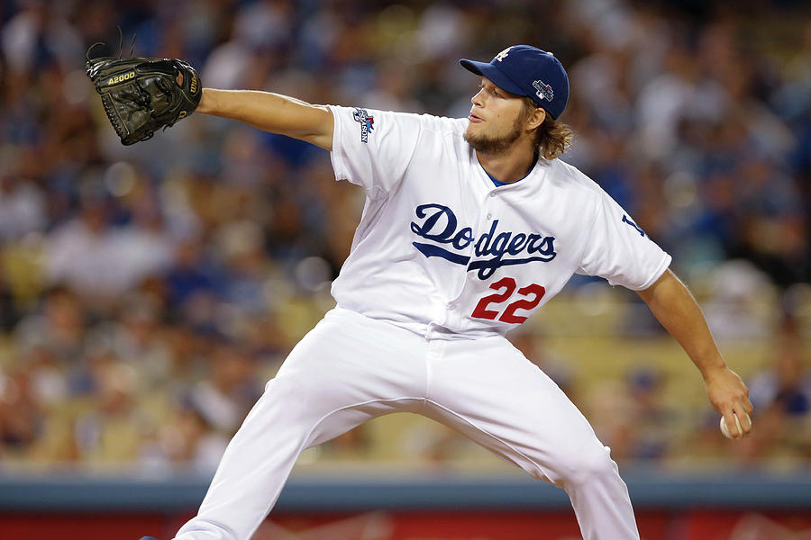 Clayton Kershaw Photograph by Rob Leiter
