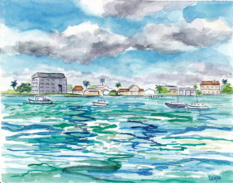 Clear Water Bay by Clara Sue Beym