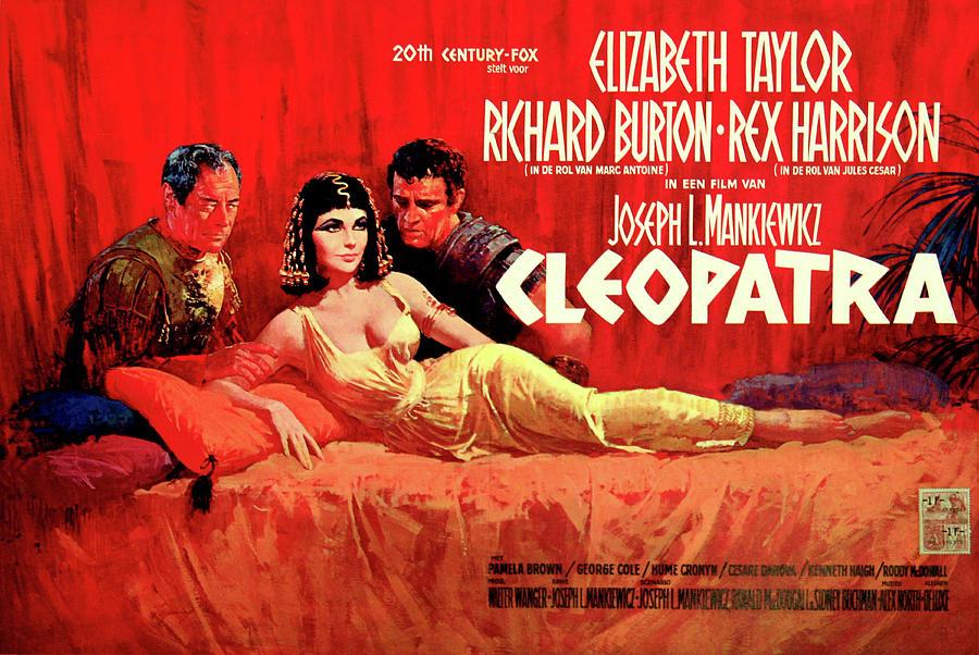 cleopatra 1963 Poster Mixed Media