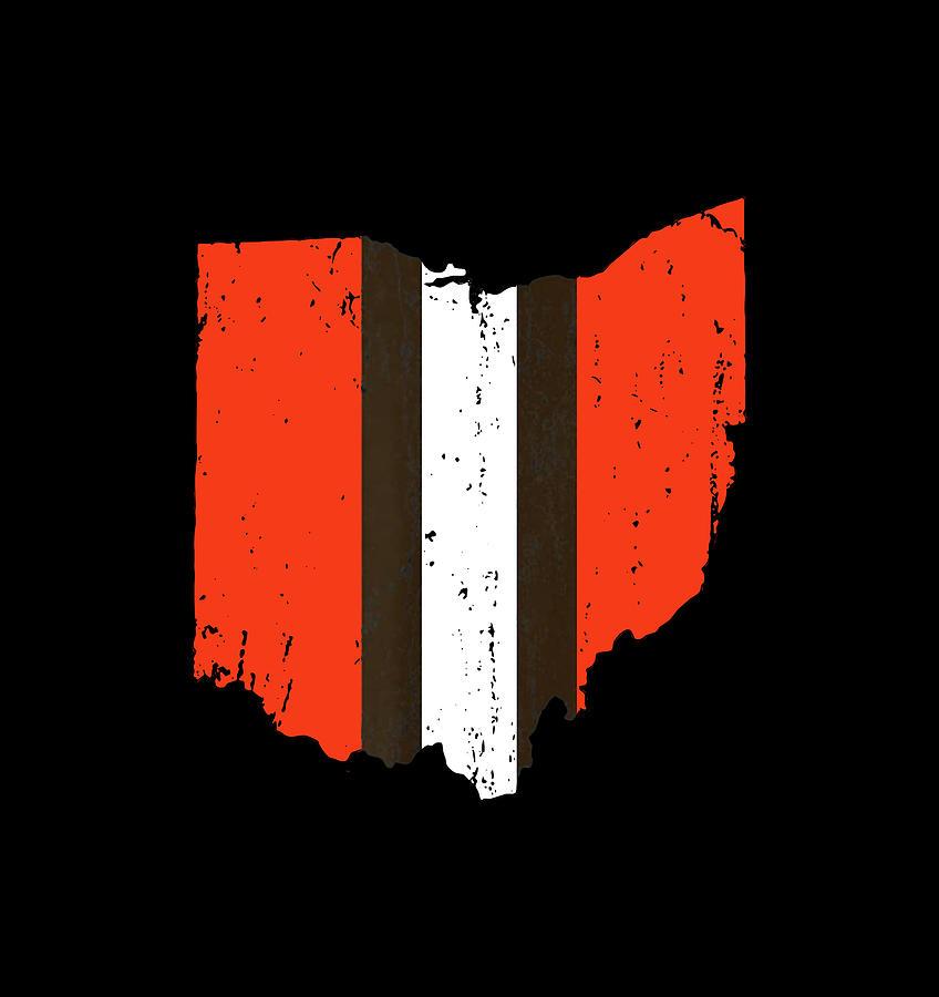 Cleveland Football Digital Art