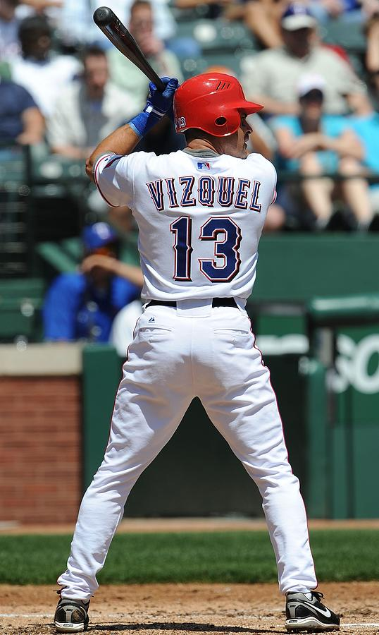 Cleveland Indians v Texas Rangers Photograph by Ronald Martinez