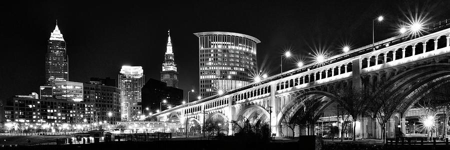 Cleveland Skyline Photograph