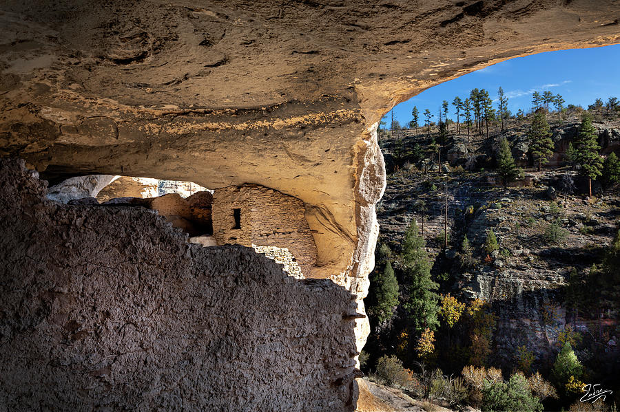 Cliff Dwelling 4 by Endre Balogh
