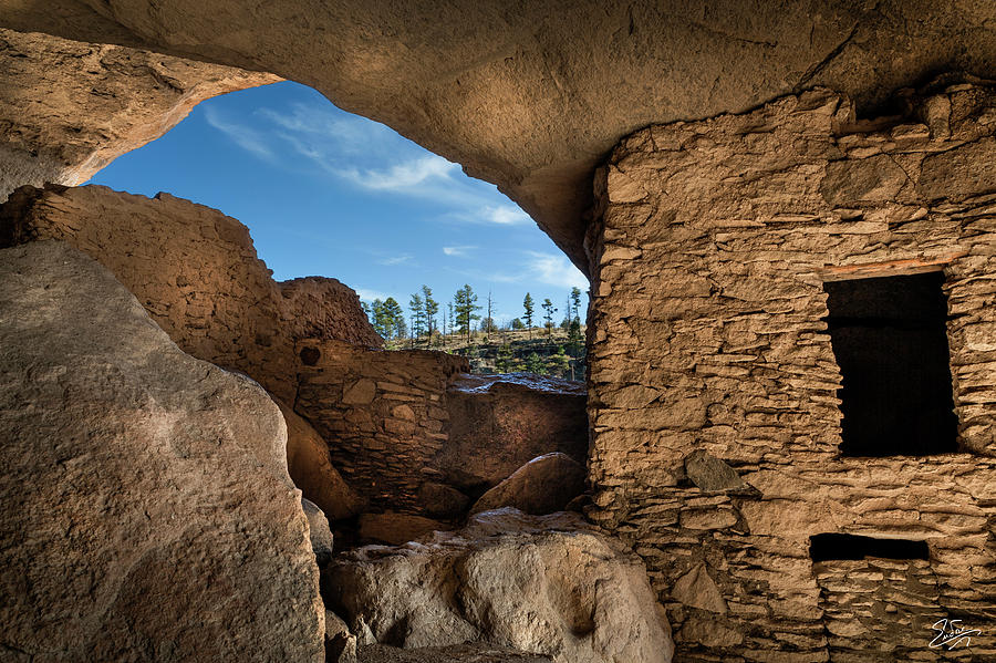 Cliff Dwelling 5 by Endre Balogh