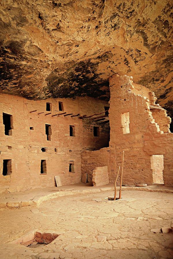 Mesa Verde Photograph - Cliff Dwellings, Mesa Verde, Colorado by Emily Sandifer